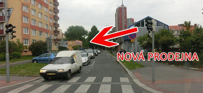 Pohled u ulice