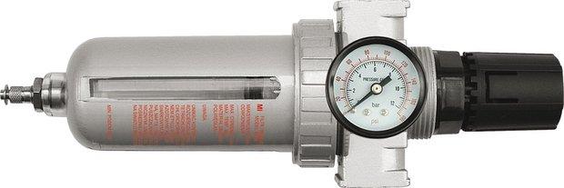 "Regulátor tlaku vzduchu 1/2"", 0-1MPa, s filtrem"