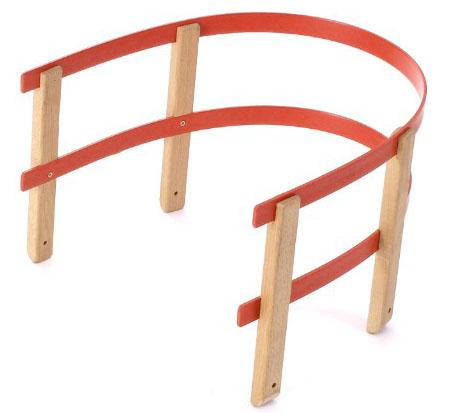 Acra ohrádka na sáně dřevo + plast A2053