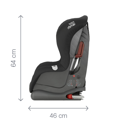 BRITAX RÖMER Autosedačka DUO PLUS 2016, Flame Red