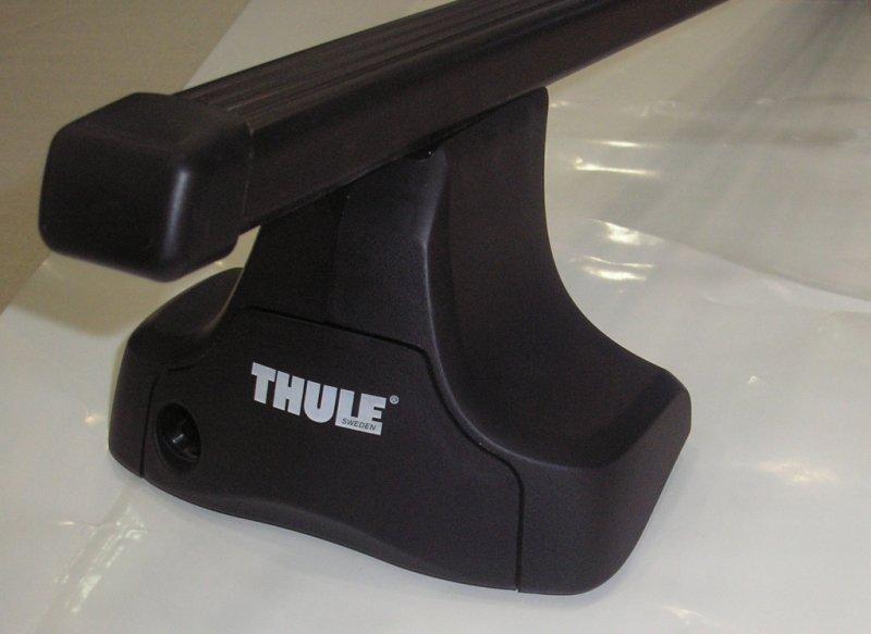Thule 754+761+kit 1187 Toyota Yaris sedan
