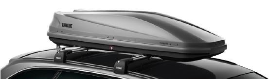 Thule Touring 600 Aeroskin Titan ***