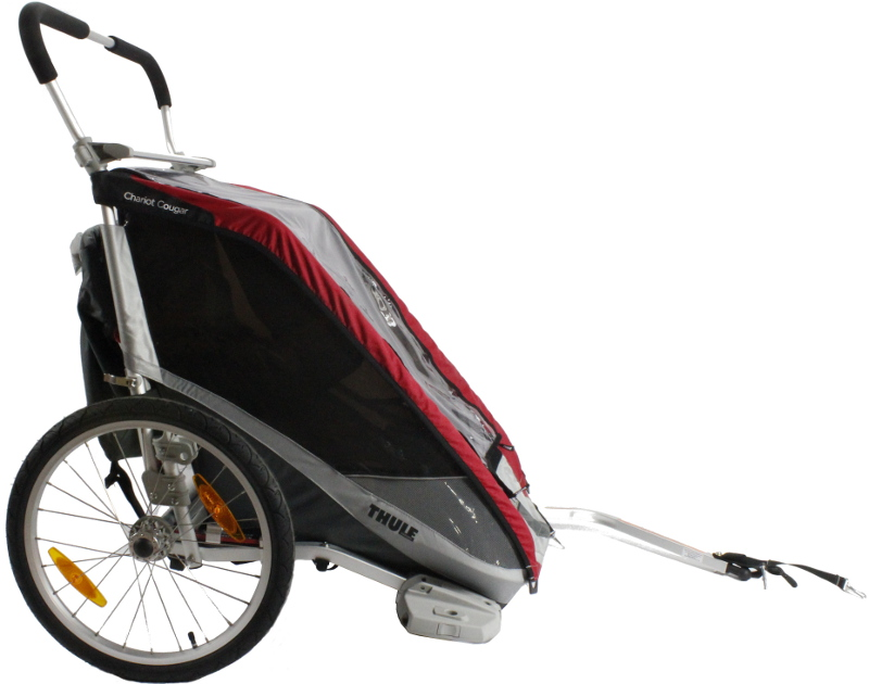 THULE CTS COUGAR 2 RED 2014 + BIKE