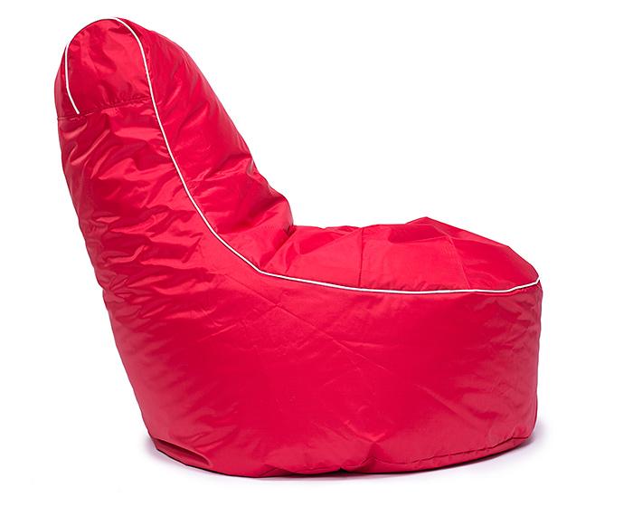 Sedací pytel Lounge Omni Bag 80x80x90 červený
