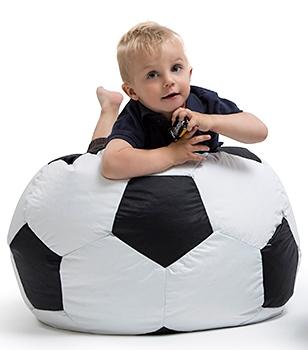 Sedací pytel OMNIBAG Fotbal průměr 55 cm