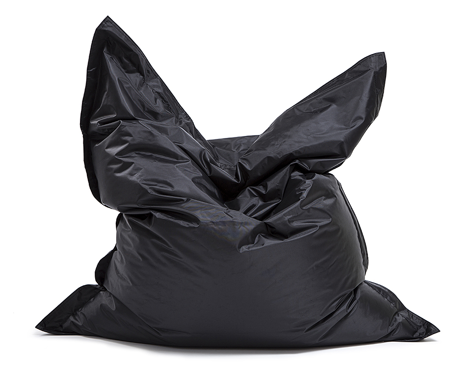 Omni Bag Black 121x141 - sedací pytel