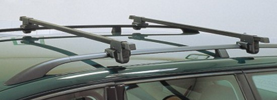 Hakr 0010 - nezamykatelné příčníky na podélné střešní nosiče