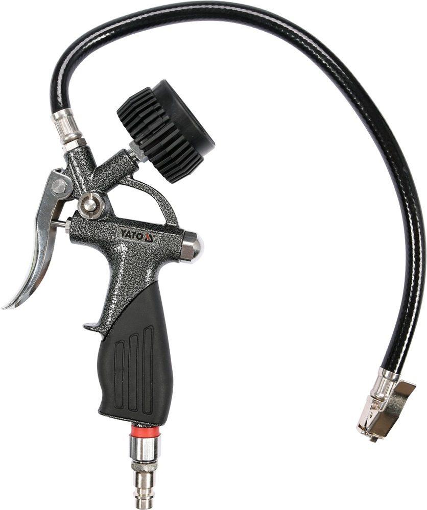 Compass Pistole na huštění pneu s manometrem 6 bar