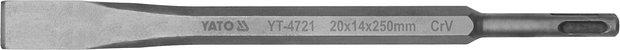 Compass Sekáč SDS+ plochý 20 x 14 x 250 mm CrV