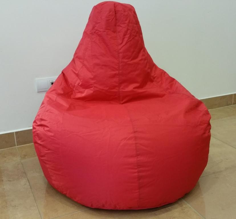 Sedací pytel Game Omni Bag červený
