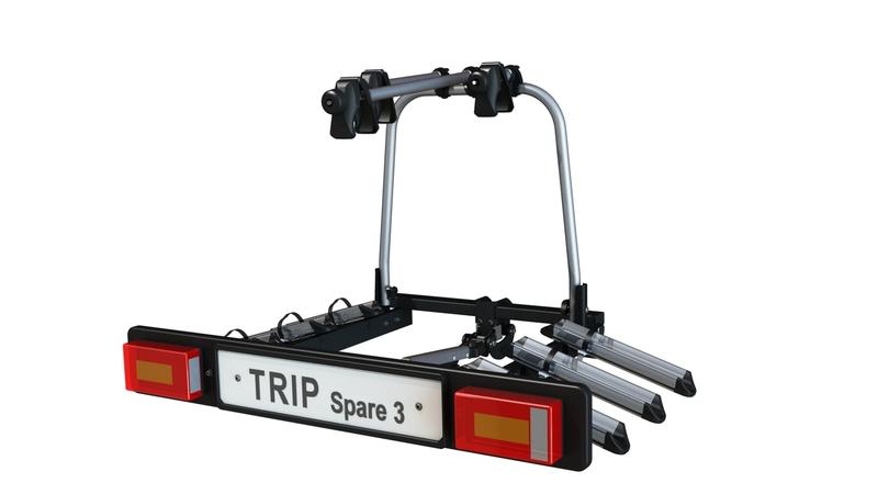 Hakr Trip 3+1 Spare - nosič kol na TZ pro až 4 kola !! DOPRAVA A ADAPTER ZÁSUVKY ZDARMA***