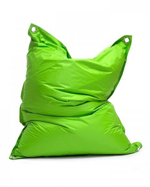 Omni Bag Duo 181x141 Green Frog-Black - sedací pytel s popruhy