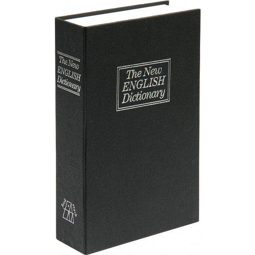 Pokladna příruční - imitace knihy 180x115x55mm