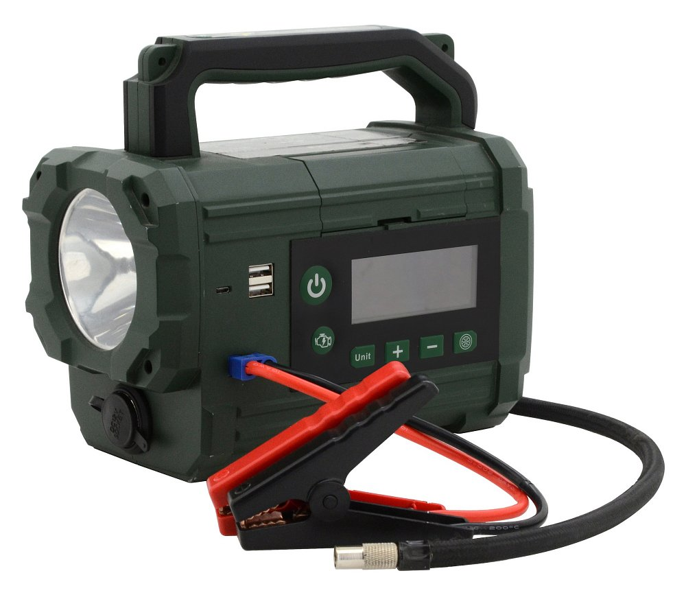 Compass Kompresor / zdroj AKU Power starter 300A LiFePO4