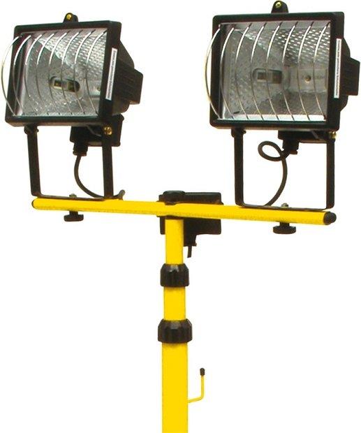 Compass Lampa halogenová na stojanu 2 x 400W