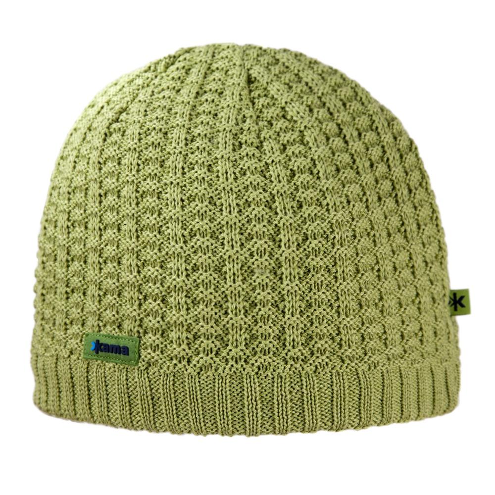Pletená čepice Kama A93 zelená