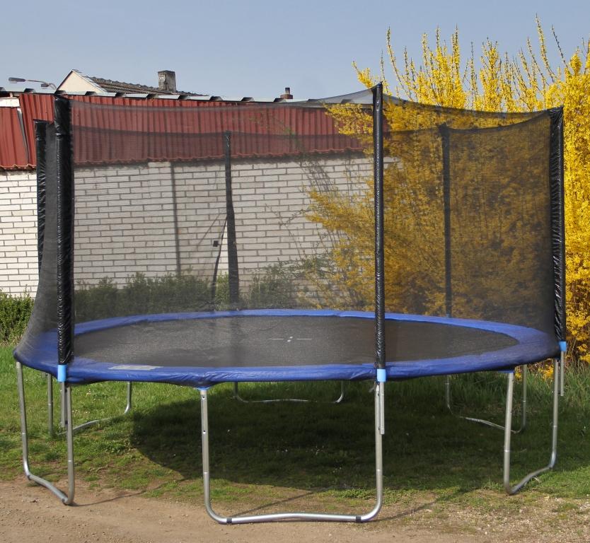 Trampolína OmniJump s ochrannou sítí 487 cm