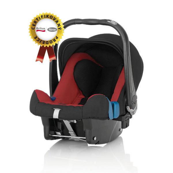 RÖMER BabySafe plus II - Trend Line 2014, Chilli Pepper