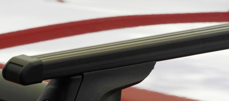Střešní nosiče Piccola FP33000+TP2125 Flexbar tyče ocel - pro BMW 3 Touring, X3, X5