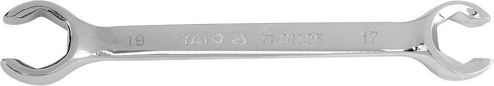 Compass Klíč prstencový polootevřený 17x19 mm