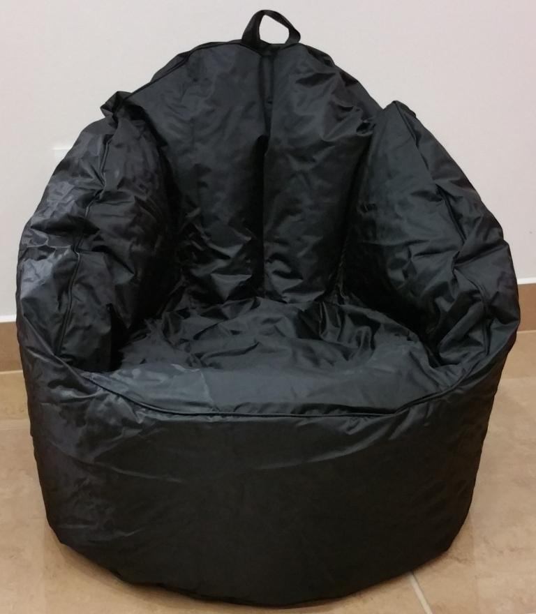Sedací pytel Queen chair Omni Bag černý