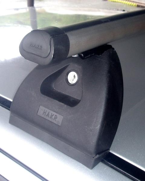 Střešní nosiče Hakr O320 ALU - pro vozy Škoda Fabia I sedan/hatchback, Octavia I liftback