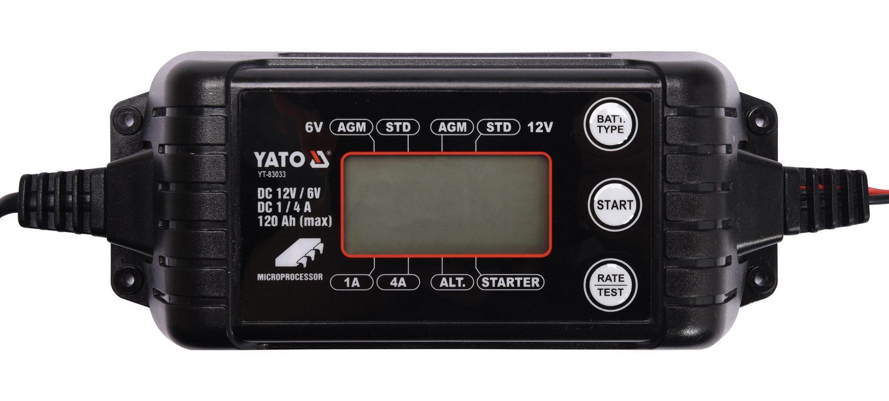 Compass Nabíječka 4A 6/12V PB/GEL LCD display
