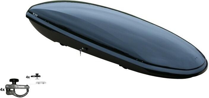 Neumann Eldo černá lesklá - NPB1615CCR