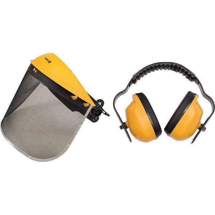 Compass Helma s odnímatelným štítem + chrániče sluchu
