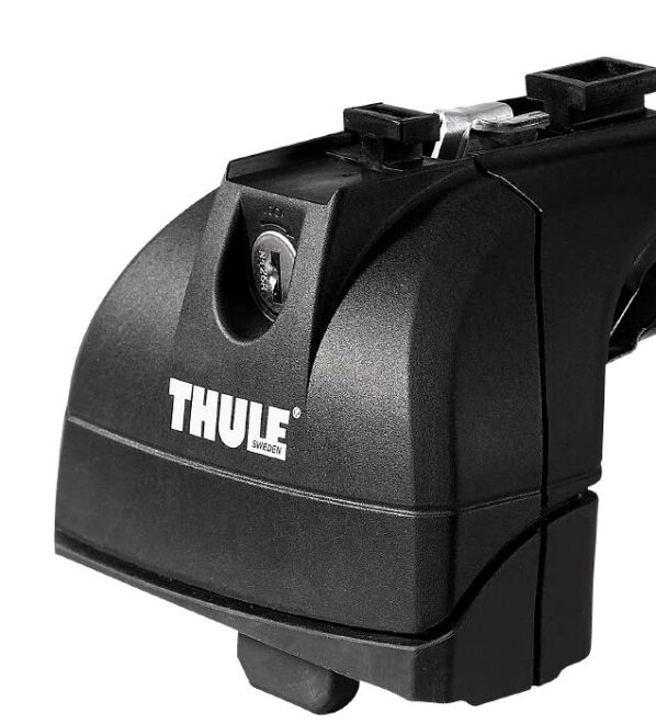 Střešní nosiče Thule Professional 753+392+kit pro vozy s pevnými body alu tyče 150cm