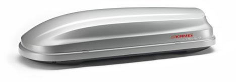 Střešní boxy Kamei Corvara 390K stříbrný Duo-lift