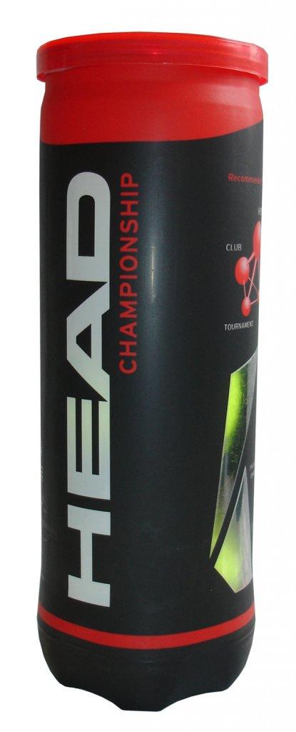HEAD Championship míčky tenisové 3ks
