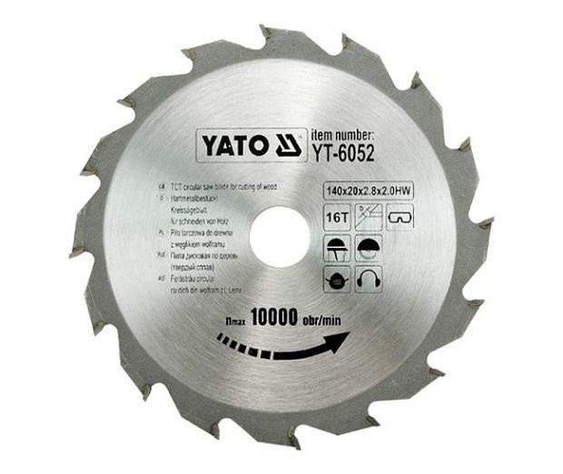 Compass YATO pilový kotouč na dřevo 140x20mm YT-6052