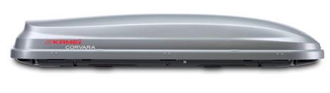 Střešní boxy Kamei Corvara 310 stříbrný Duo-lift
