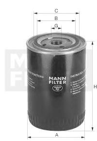 Olejový filtr Mann W940/62
