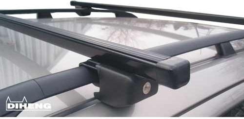 Příčníky na hagusy Diheng D2000REL černé 130 cm
