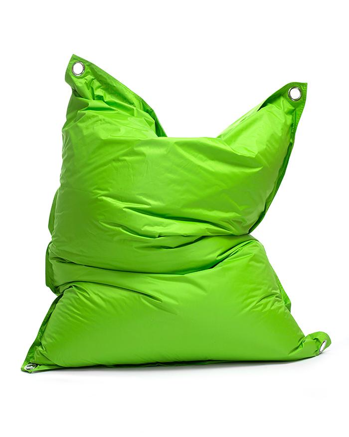 Omni Bag 181x141 Limet - sedací pytel s popruhy menší velikost