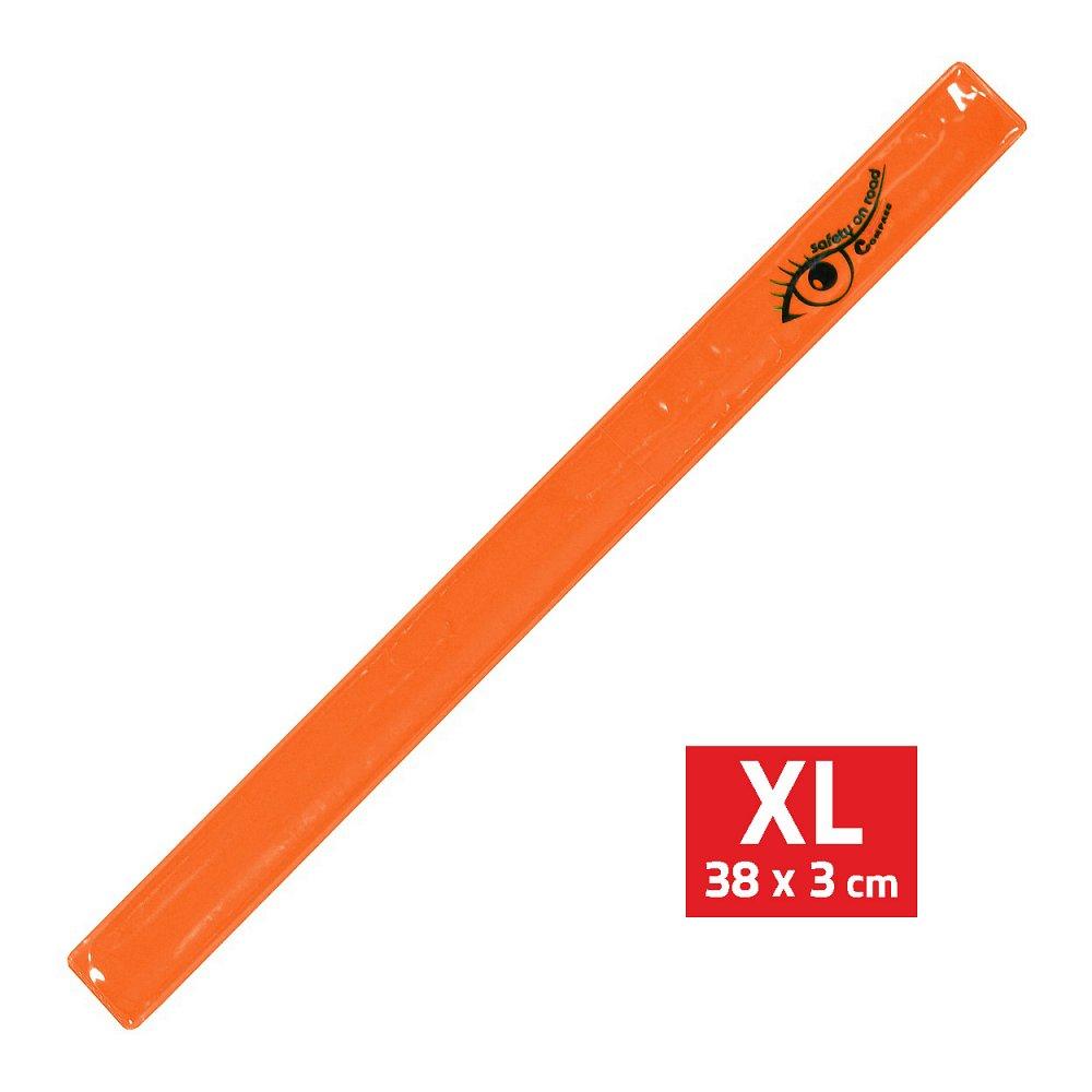 Compass Pásek reflexní ROLLER XL 3x38cm S.O.R. oranžový