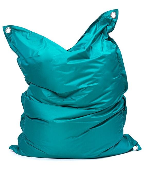 Omni Bag 181x141 Dark Green - sedací pytel s popruhy
