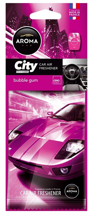 Compass Osvěžovač Aroma CAR CITY BUBBLE GUM