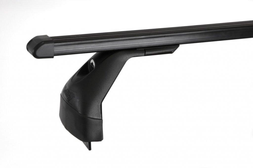 Střešní nosiče ELSON auto FL4020+TP2115 Flexbar tyče ocel - Renault Megane II a Scenic II