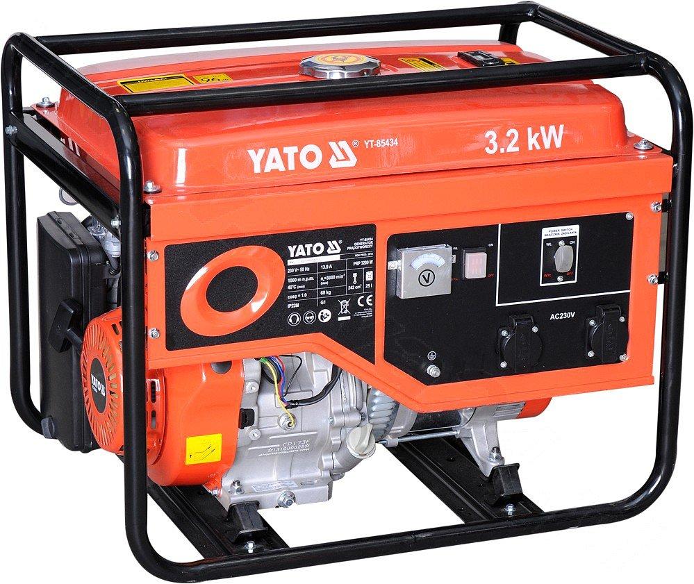 Elektrocentrála - benzínový generátor 3.2kW