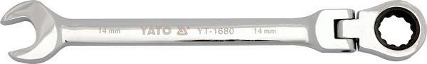 Klíč očkoplochý ráčnový 24 mm s kloubem