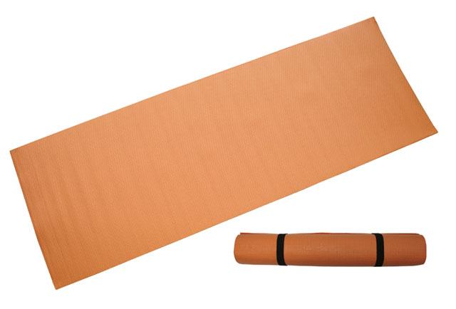 ACRA D81 Gymnastická podložka 173x61x0,3 cm, ORANŽOVÁ