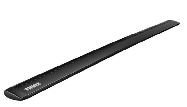 Příčníky Thule WingBar černé ALU 757+962