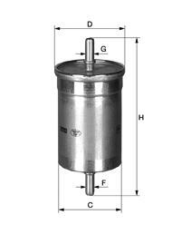 Palivový filtr Mann WK612 - skladový výprodej