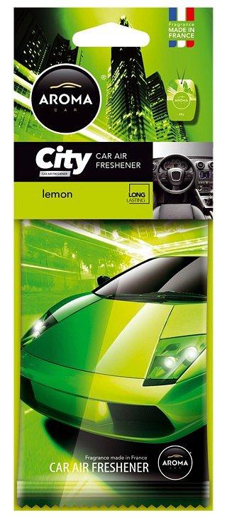 Compass Osvěžovač Aroma CAR CITY LEMON