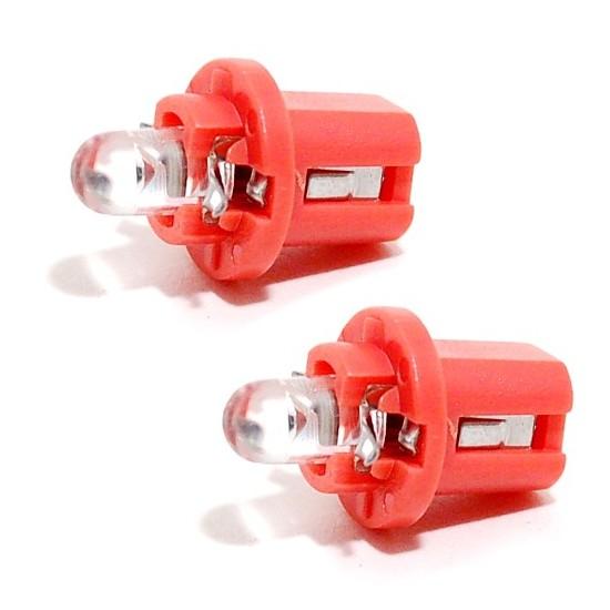 Compass Žárovka 1LED 12V B8,5d červená 2ks