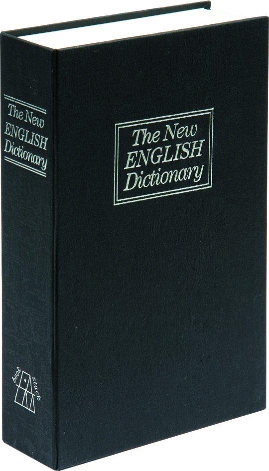 Compass Pokladna příruční - imitace knihy 240x155x55mm