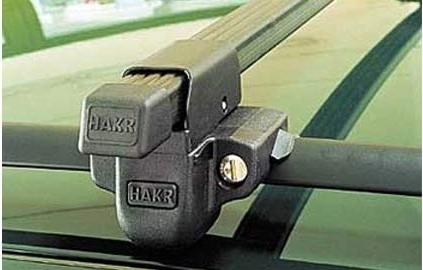 Hakr 0011 - zamykatelné příčníky na podélné střešní nosiče